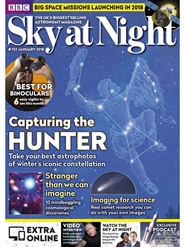 Tidningen BBC Sky at Night 12 nummer