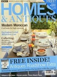 Tidningen BBC Homes & Antiques 13 nummer