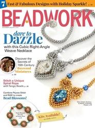 Tidningen Beadwork Magazine 6 nummer