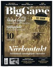 Tidningen Big Game 4 nummer