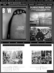 Tidningen Black & White Magazine 6 nummer