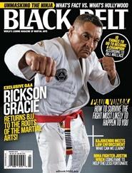 Tidningen Black Belt Magazine 6 nummer