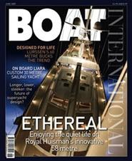 Tidningen Boat International 12 nummer