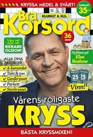 Tidningen Bra Korsord 6 nummer