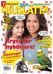 Tidningen Buslätta Korsord 6 nummer