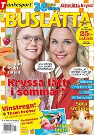 Tidningen Buslätta Korsord 12 nummer