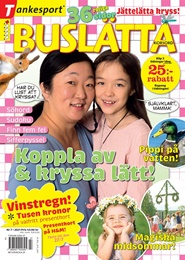 Tidningen Buslätta Korsord 4 nummer