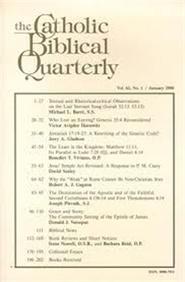Tidningen Catholic Biblical Quarterly 4 nummer