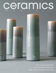 Tidningen Ceramics Monthly 10 nummer