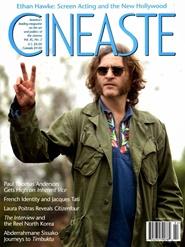 Tidningen Cineaste Magazine 4 nummer