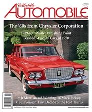 Tidningen Collectible Automobile 6 nummer