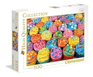 Tidningen Colorful Cupcakes Pussel, 500 bitar 1 nummer