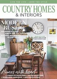 Tidningen Country Homes & Interiors 12 nummer