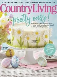 Tidningen Country Living (US Edition) 10 nummer