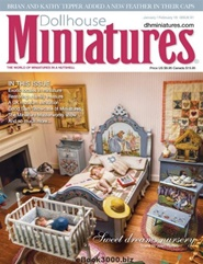 Tidningen Dollhouse Miniatures 6 nummer