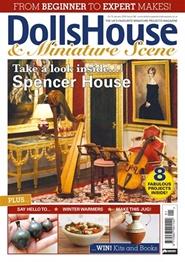 Tidningen Dolls House & Miniature Scene 12 nummer