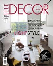 Tidningen Elle Decor (Italian Edition) 10 nummer