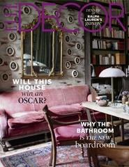 Tidningen Elle Decor (US Edition) 10 nummer
