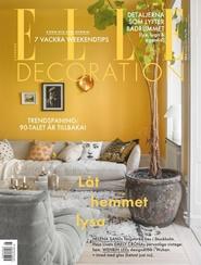 Tidningen ELLE Decoration 8 nummer