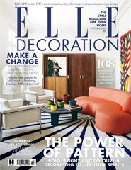 Tidningen Elle Decoration (UK Edition) 12 nummer