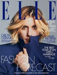Tidningen Elle (UK Edition) 12 nummer