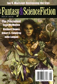 Tidningen Fantasy & Science Fiction 6 nummer