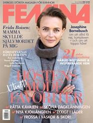 Tidningen FEMINA 10 nummer