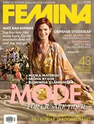 Tidningen FEMINA 12 nummer