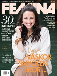Tidningen FEMINA 5 nummer