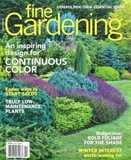 Tidningen Fine Gardening 6 nummer