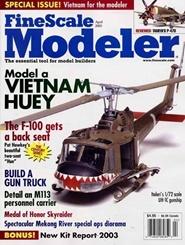 Tidningen Finescale Modeler Magazine 10 nummer