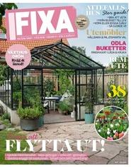 Tidningen Fixa 4 nummer