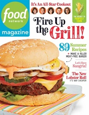 Tidningen Food Network Magazine 10 nummer