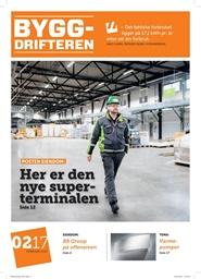 Tidningen Byggdrifteren 10 nummer