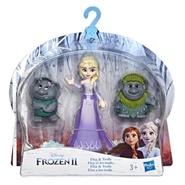 Tidningen Frost 2 Figurset, Elsa och trollen 1 nummer