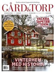 Tidningen Gård & Torp 5 nummer