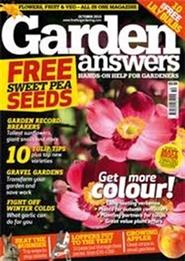 Tidningen Garden Answers 13 nummer