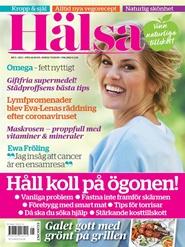 Tidningen HÄLSA 6 nummer