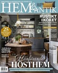 Tidningen Hem & Antik 6 nummer