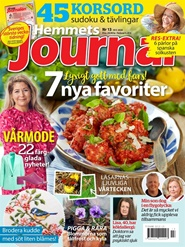 Tidningen Hemmets Journal 13 nummer