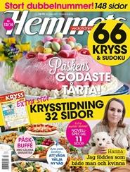 Tidningen Hemmets Veckotidning Tidningsprenumeration 26 nummer