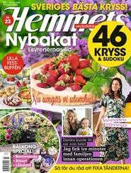 Tidningen Hemmets Veckotidning Tidningsprenumeration 20 nummer