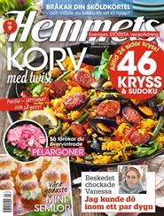 Tidningen Hemmets Veckotidning Tidningsprenumeration 21 nummer