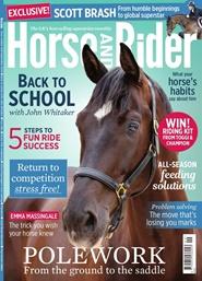 Tidningen Horse And Rider Magazine 12 nummer
