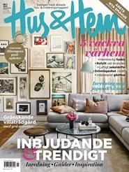 Tidningen Hus & Hem 4 nummer