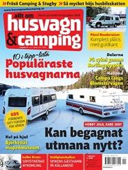 Tidningen Husvagn och Camping 6 nummer