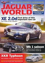 Tidningen Jaguar World Monthly 12 nummer
