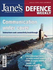 Tidningen Jane´s Defence Weekly 51 nummer