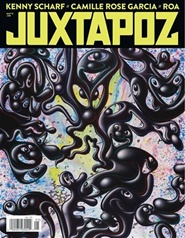 Tidningen Juxtapoz Art & Culture Magazine 4 nummer