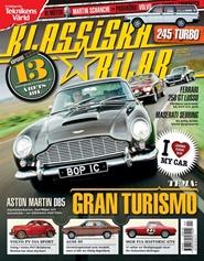 Tidningen Klassiska Bilar 3 nummer